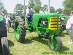 Super 66 row crop diesel with single front wheel